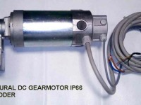 02 AGRICULTURE DC GEAR MOTOR 12V 24V IP66 LN70.10+DSTS40P+EH30+CPAT