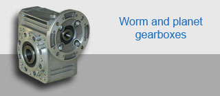 worm and planet gearboxes PL BW